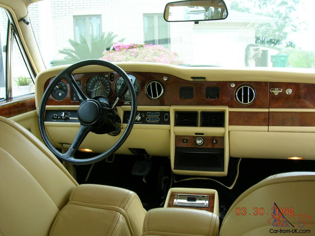 1985 rolls royce silver spur 37 117 miles great condition nice interior paint - Nice interior pic ...