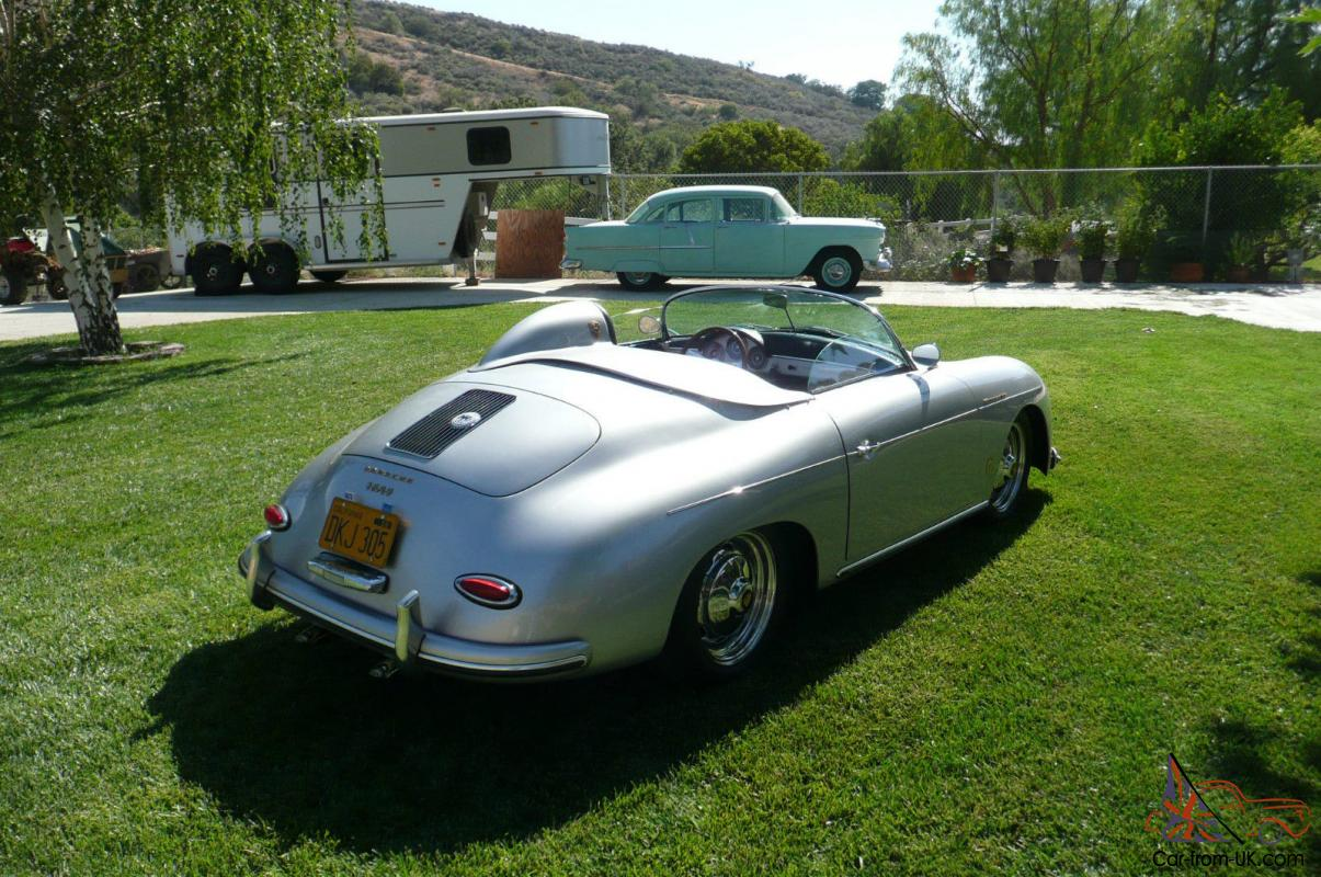 Porsche Speedster Replica By 1 Speedster Builder