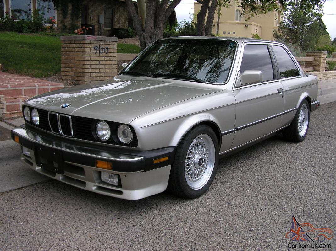 1987 Bmw 325is 99k Mi 5spd All Records From New