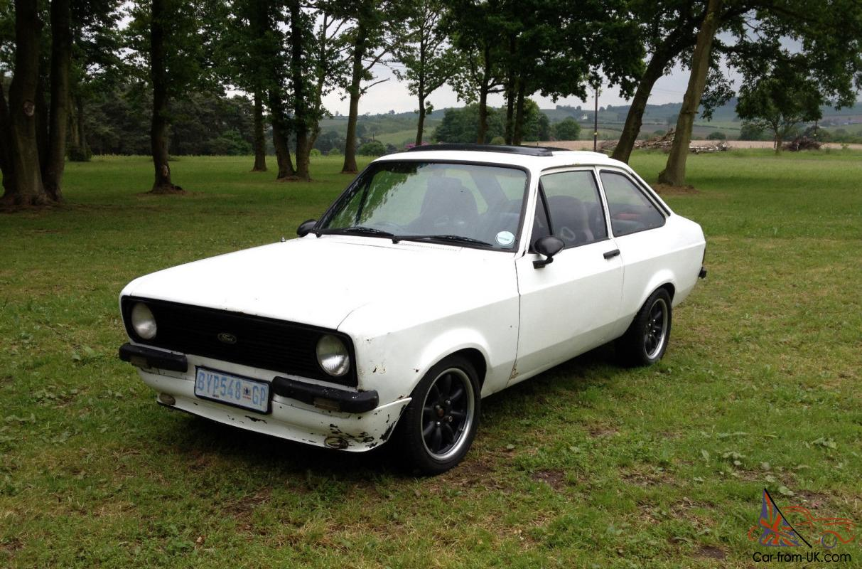 FORD ESCORT 1600 SPORT MK2 WHITE, RESTORATION PROJECT, MEXICO ...