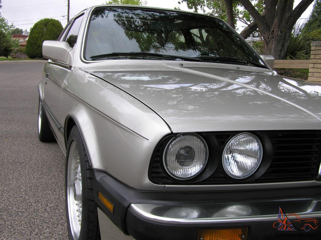 1987 bmw 325is 99k mi 5spd all records from new outstanding original condition. Black Bedroom Furniture Sets. Home Design Ideas