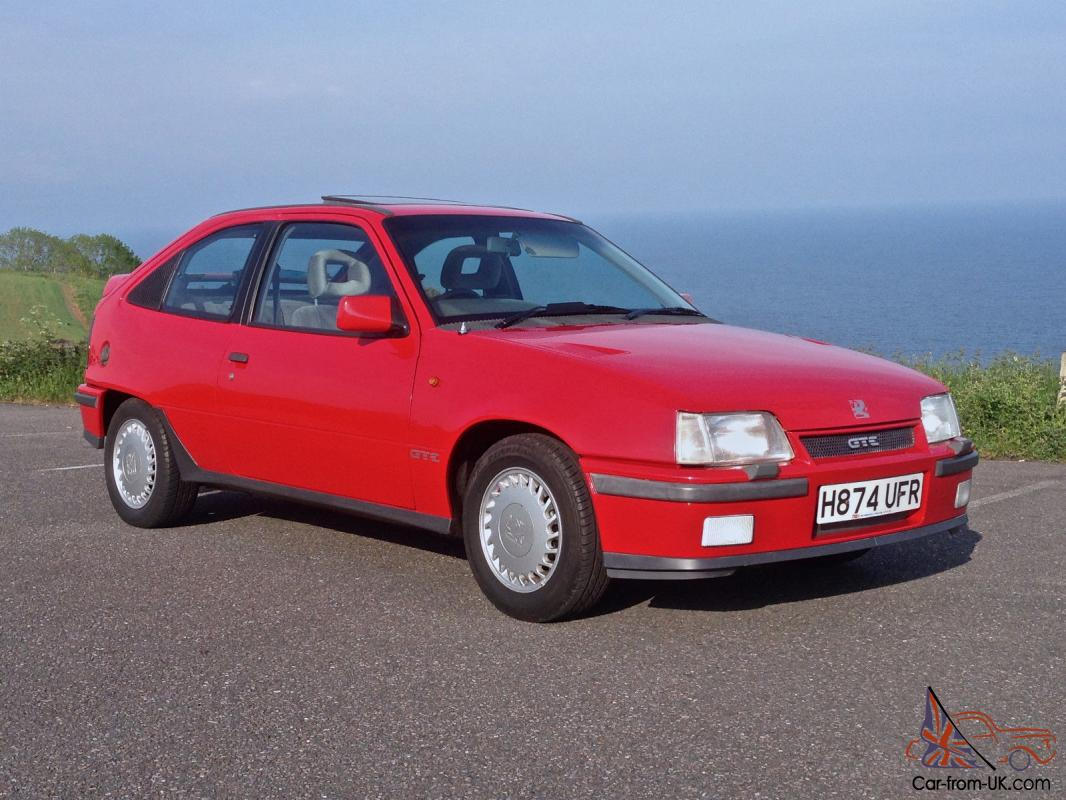 vauxhall astra gte 2 0 8v full restored ready to show 80s era old school classic. Black Bedroom Furniture Sets. Home Design Ideas