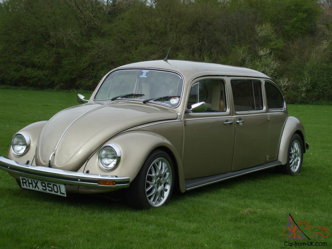 custom built classic 1972 vw beetle limousine. Black Bedroom Furniture Sets. Home Design Ideas