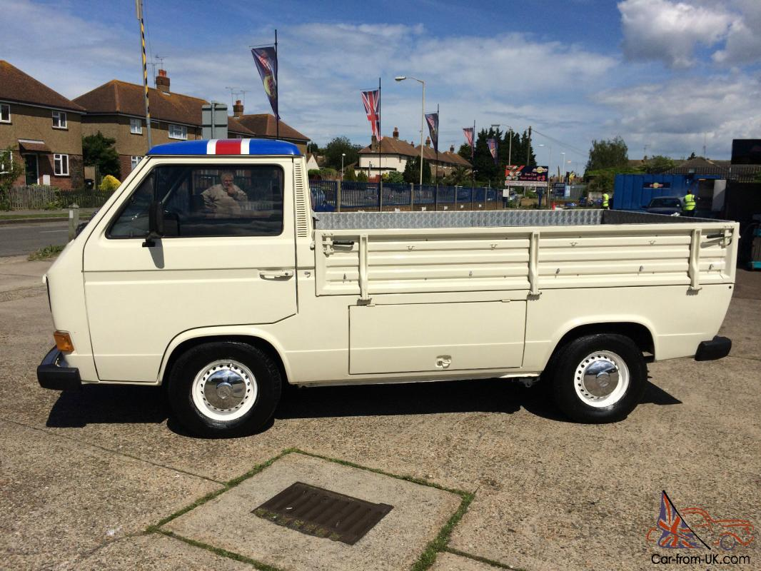 Vw t25 pick up with subaru 2 5 engine for Truck motors for sale