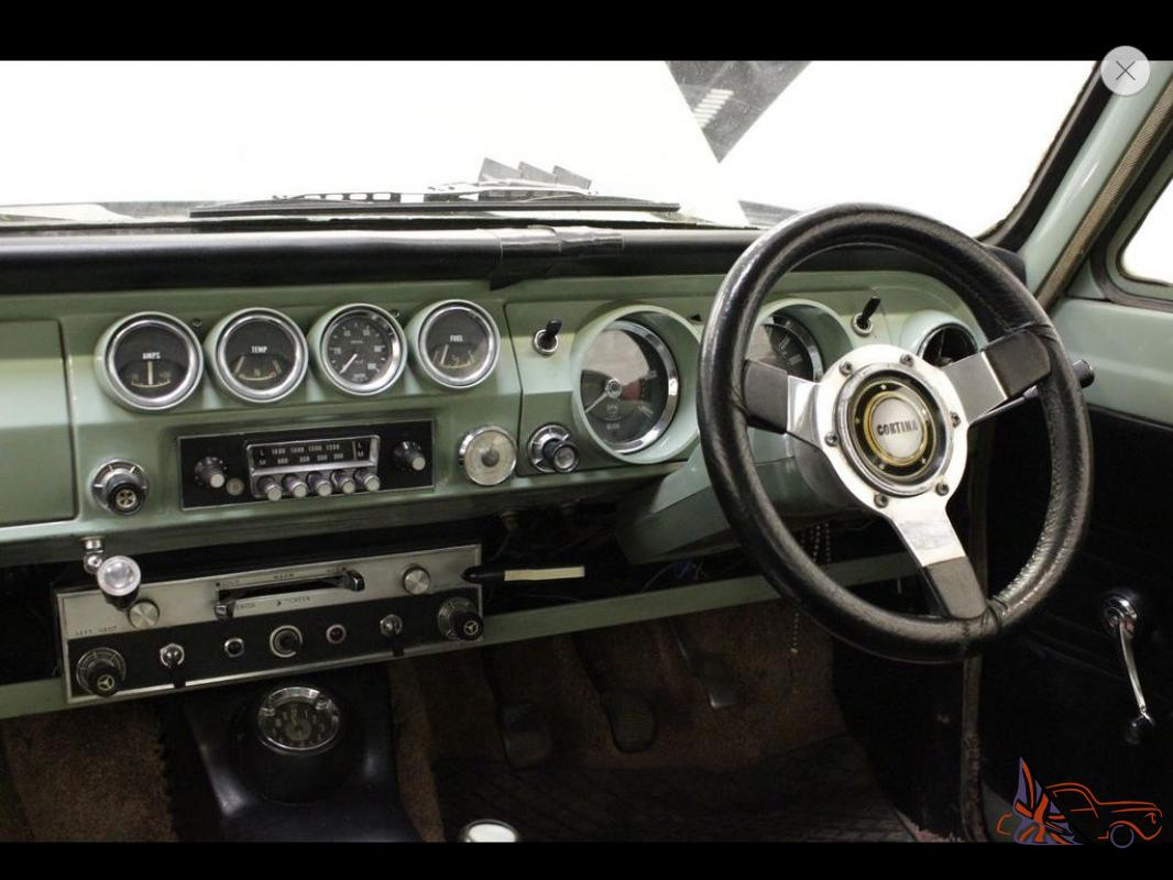 1966 D Ford Cortina 1500 Gt Mk1 2 Door One Owner From New