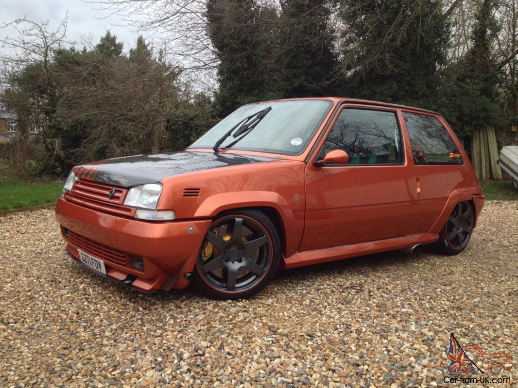 1989 renault 5 gt turbo massive spec triple featured 240bhp. Black Bedroom Furniture Sets. Home Design Ideas