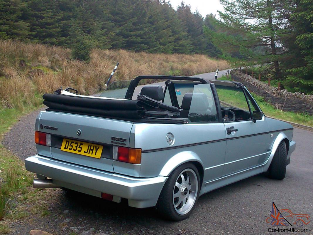 VW Mk1 golf cabriolet convertible GTI not sportline g60 ...
