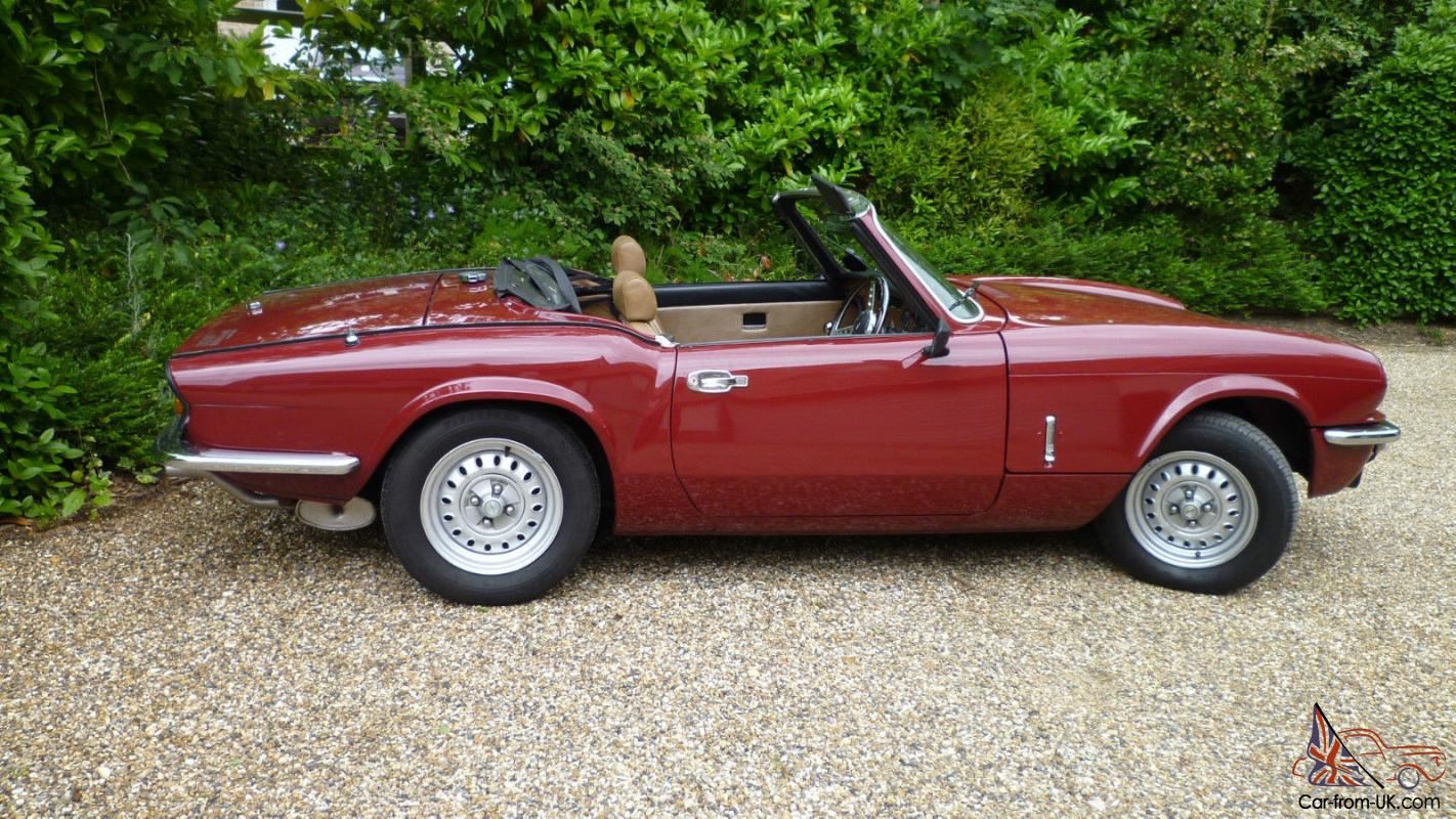 ebay949032 spitfire 1500 1976 hard top and overdrive very low milage 1965 Triumph Spitfire MK2 Wiring-Diagram at reclaimingppi.co