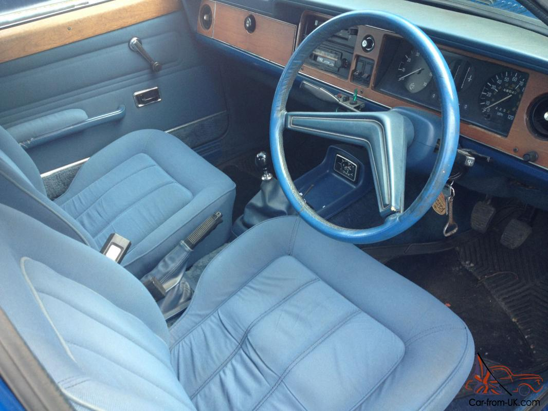 What Color To Paint Doors Ford Cortina Mk3 2000e 1976 68000 Mls