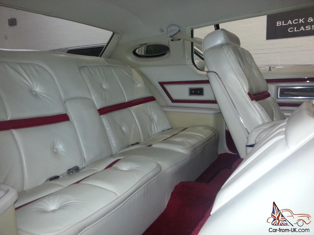 1975 Lincoln Continental White Quot Lipstick Edition Quot Stunning