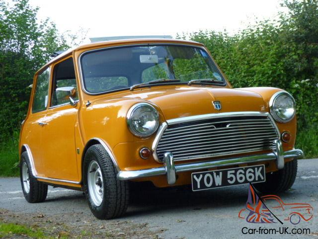 1971 morris mini cooper 1293 s abingdon special tuning. Black Bedroom Furniture Sets. Home Design Ideas