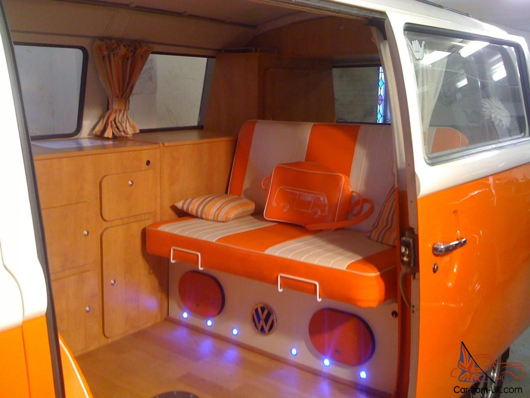 1973 Vw T2 Bay Window Camper Van