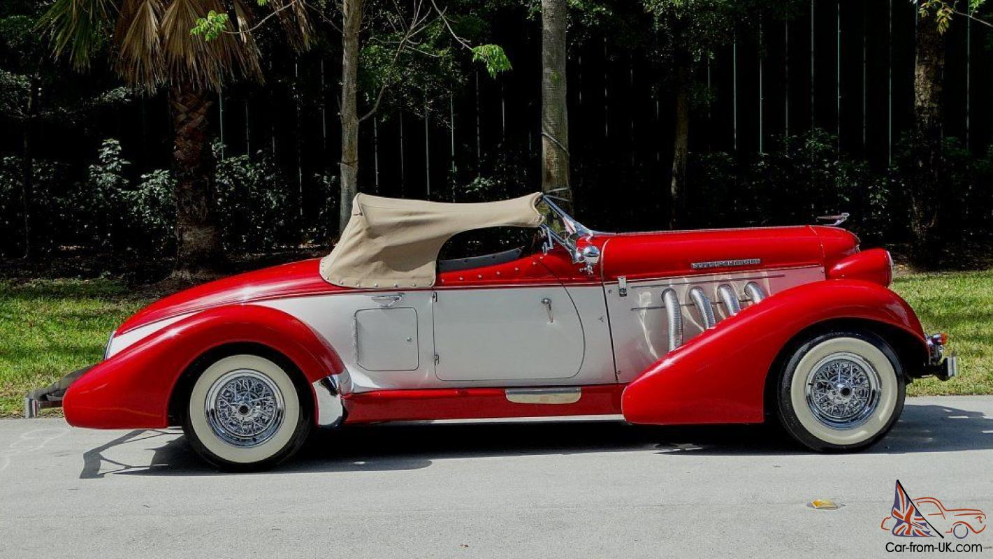 1936 auburn boat tail speedster replica on ford format. Black Bedroom Furniture Sets. Home Design Ideas
