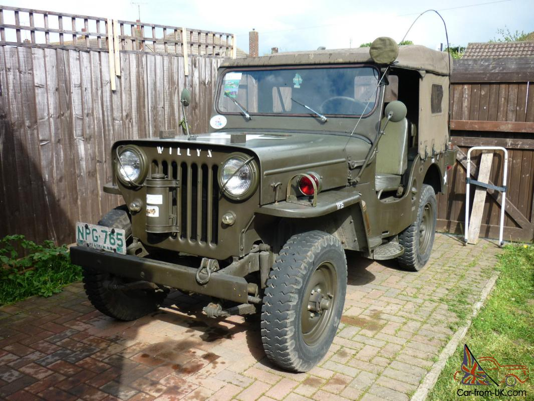 Willys cj3b jeep 1953