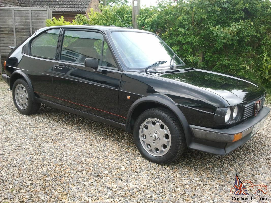 VERY RARE ALFA ROMEO ALFASUD TI GREEN CLOVERLEAF K WITH - Alfa romeo alfasud for sale