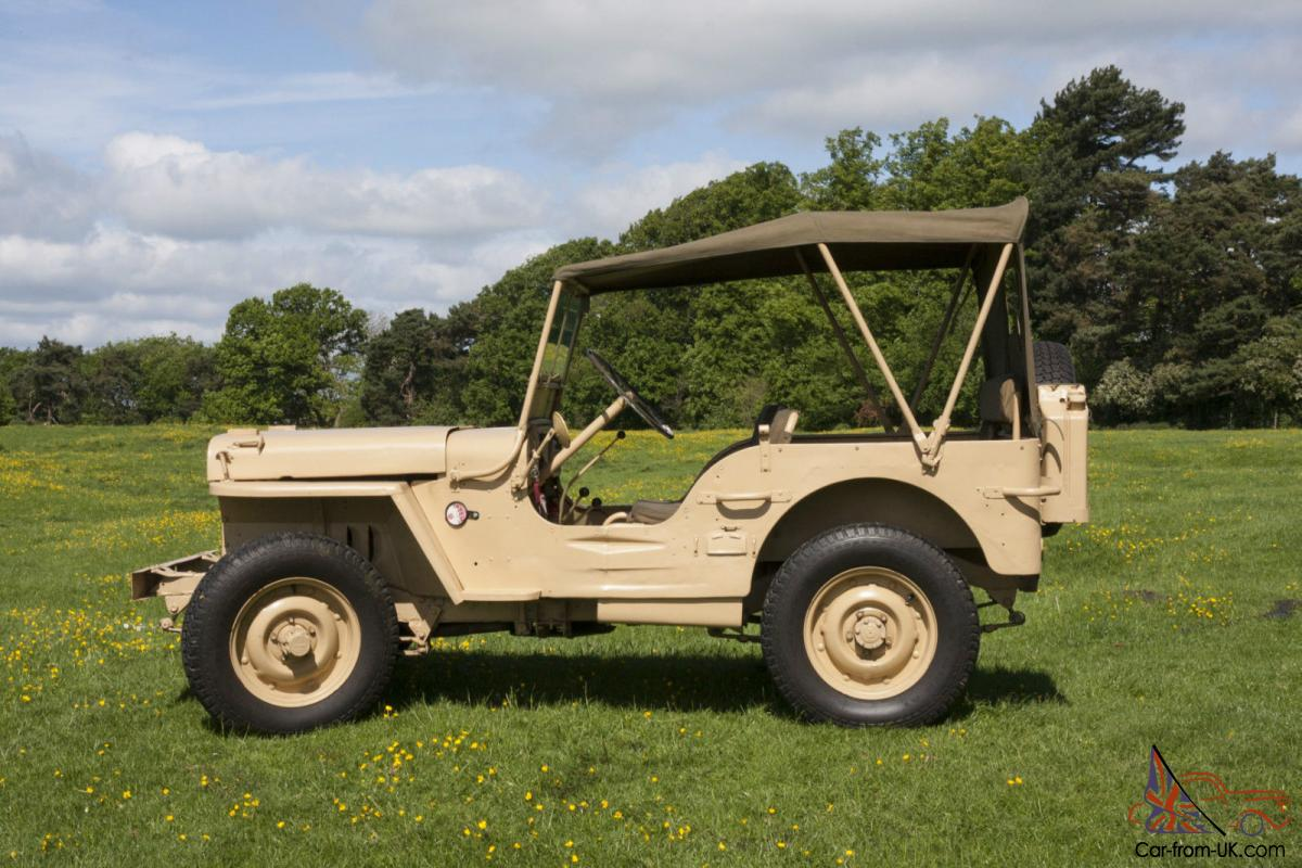 1943 Willy S Jeep Mb Lrdg Sas Recreation