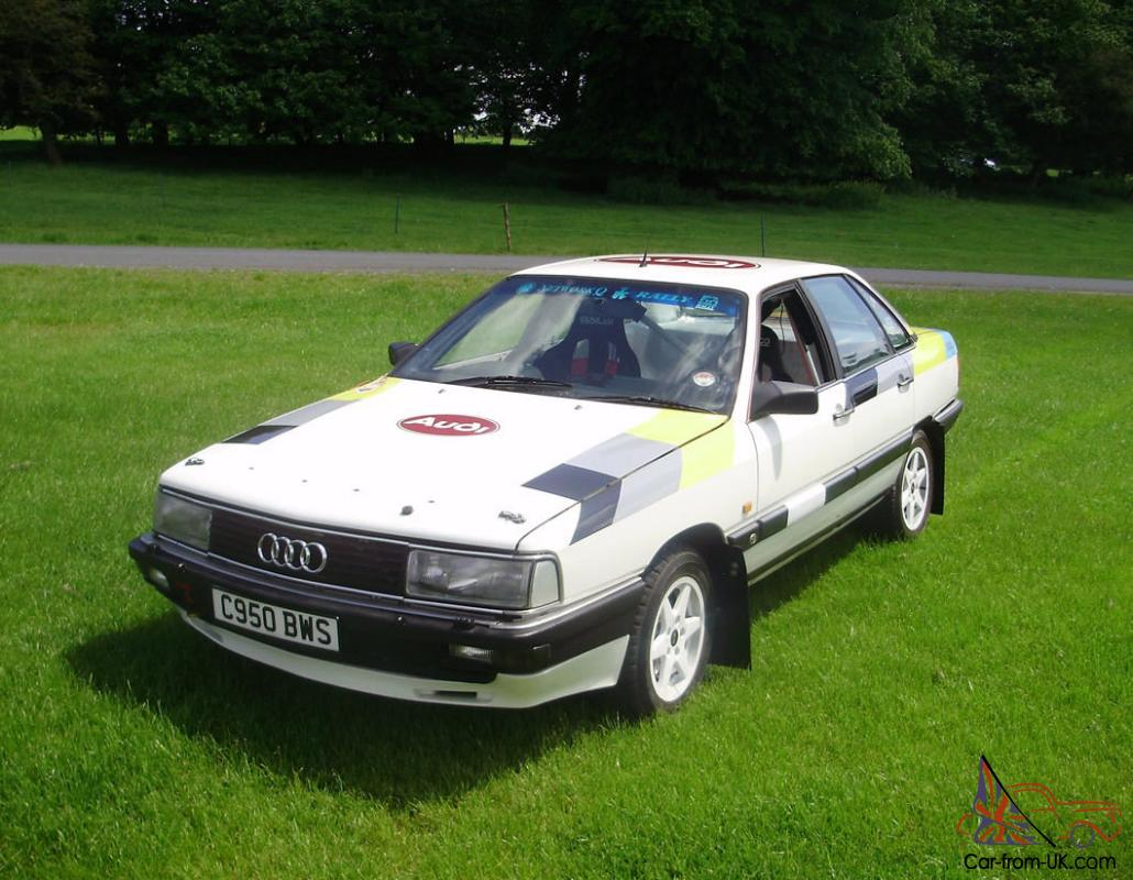 Audi 200 Quattro Turbo Ex Group A Rally Car 1986