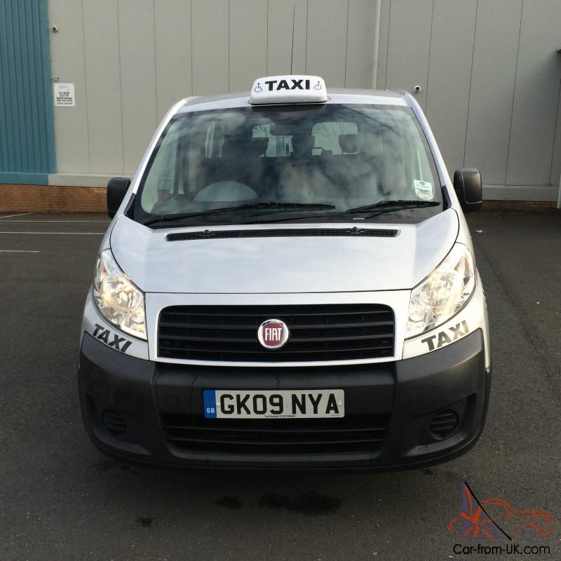 2009 taxi fiat scudo combi 90 m jet 5s grey one owner from new f s h. Black Bedroom Furniture Sets. Home Design Ideas