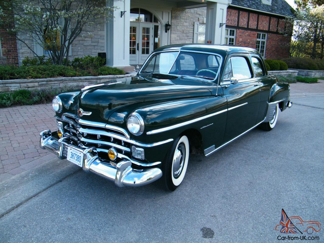 Chrysler Other Windsor Club Coupe 1949 Crown Imperial