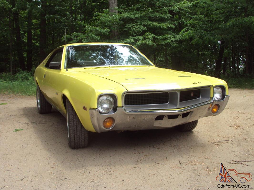 1969 AMC Javelin SST Very Rare 00 Paint Code