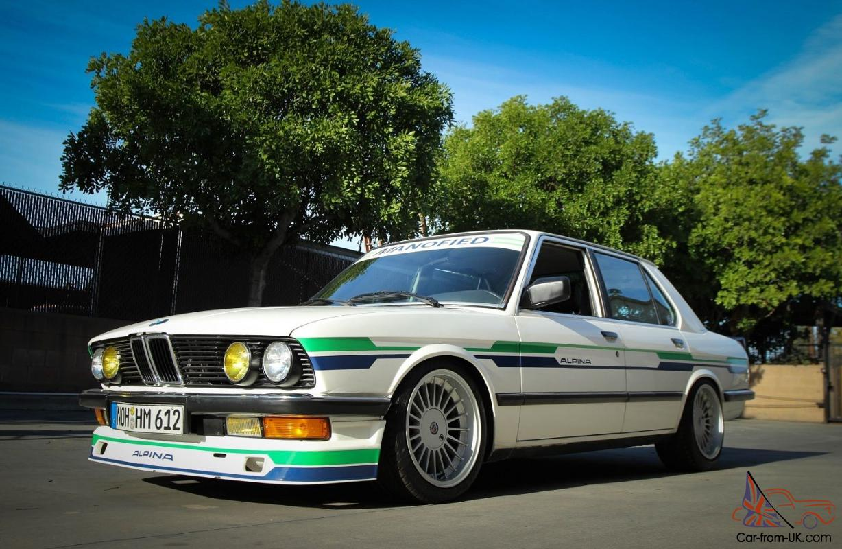 1988 Bmw 535i E28 Alpina B9 Inspired By Manofied Racing