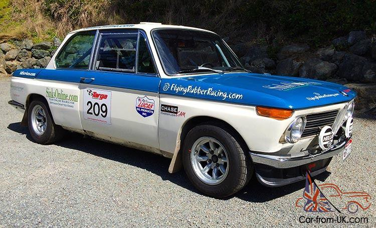 BMW 2002 Road Race Rally Car M10