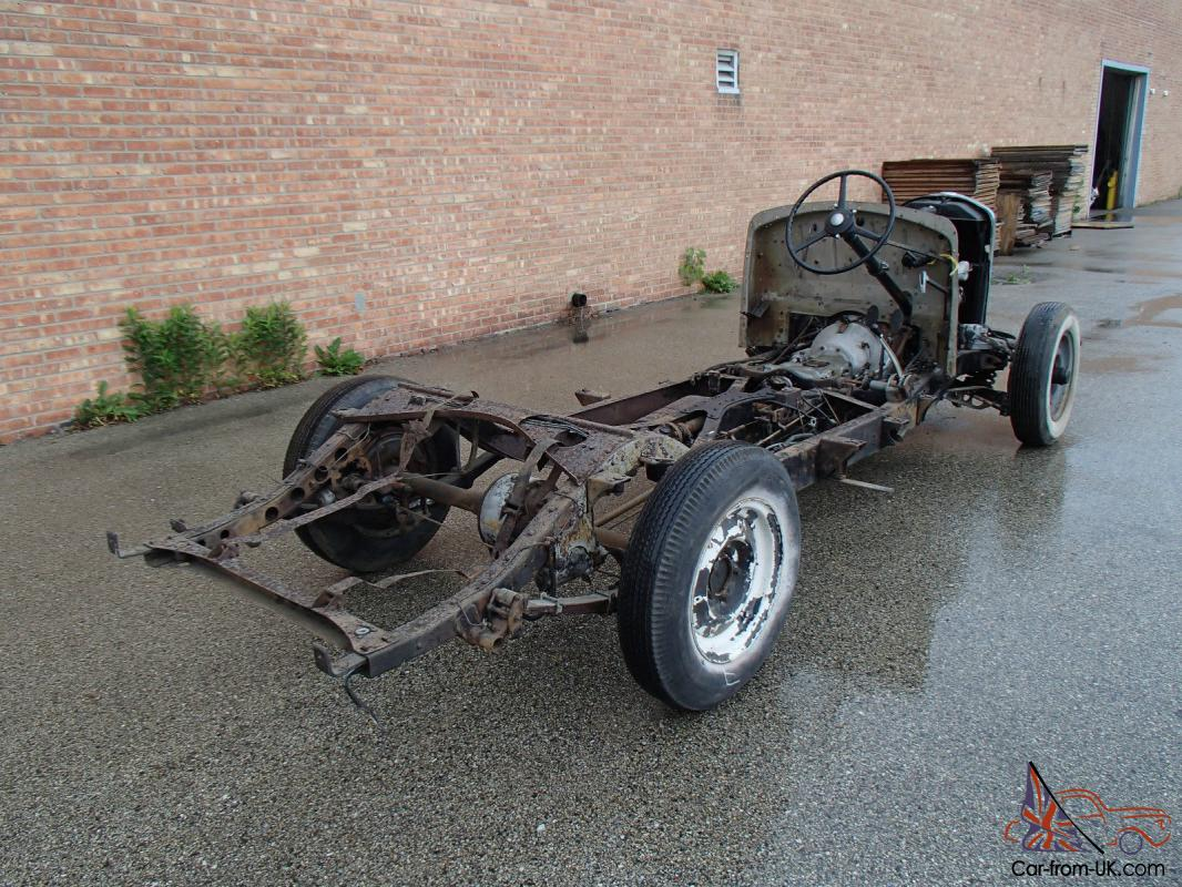 Bentley Rolls Royce Rolling Chassis With Engine