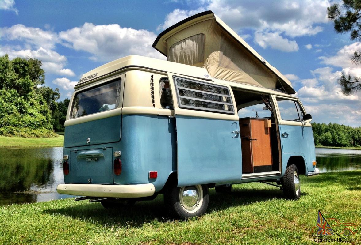 70 vw bus camper westfalia campmobile pop top bay window. Black Bedroom Furniture Sets. Home Design Ideas