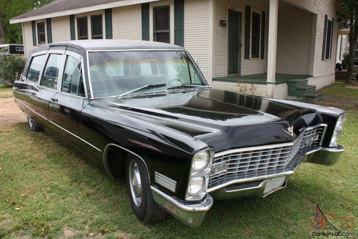 1967 Cadillac Superior Hearse W Casket Featured In Pelican Productions Movie