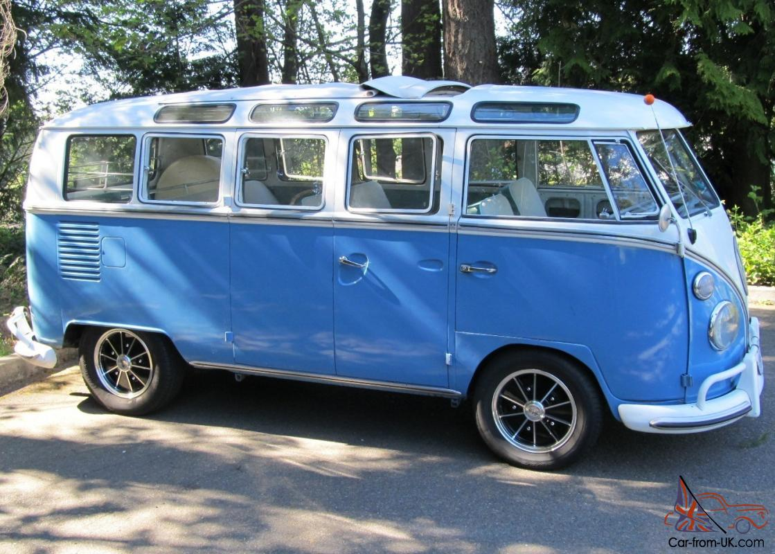 1967 vw 21 window deluxe bus walk thru original interior for 1967 21 window vw bus for sale