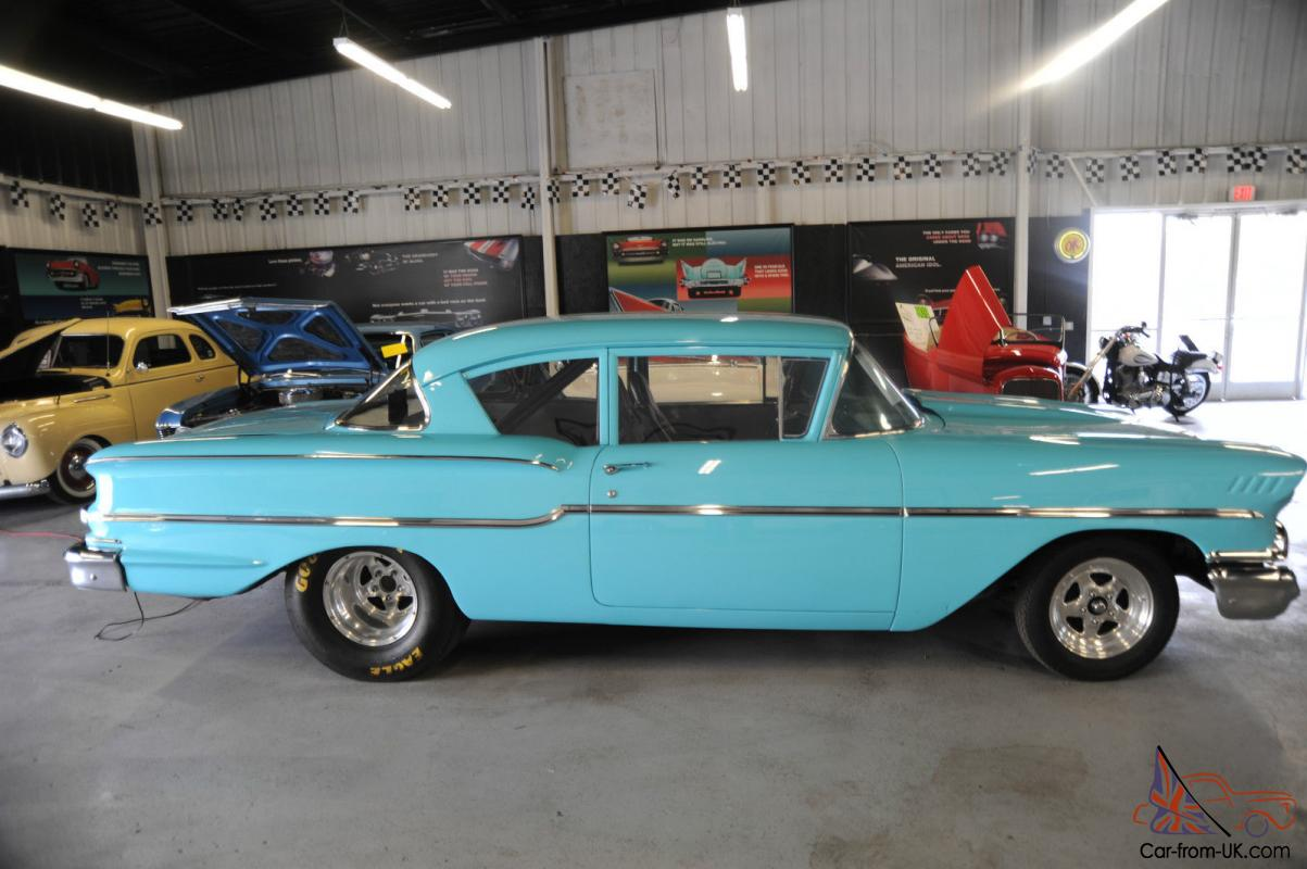 Chevy Delray PRO STREET 11 Second Qtr Mile Muscle Car !!!