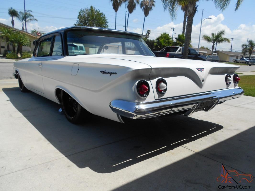 1961 chevy impala biscayne  bagged  air ride  stroker