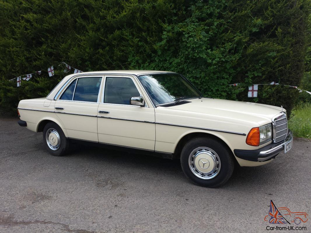 1986 mercedes benz 230e w123 saloon 5 speed automatic for Mercedes benz 230e