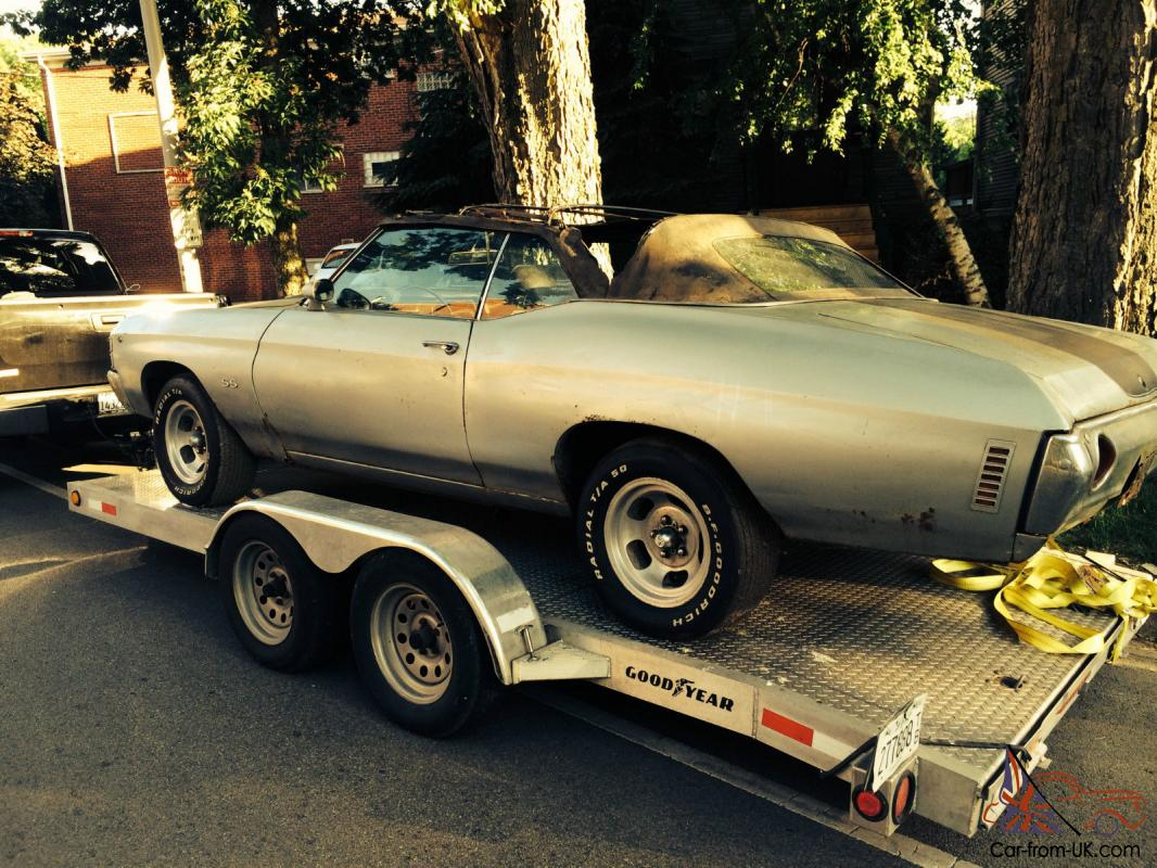 Chevelle Convertible Car For Sale