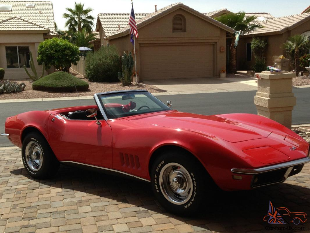 1968 corvette convertible very nice driver in excellent condition high end paint. Black Bedroom Furniture Sets. Home Design Ideas