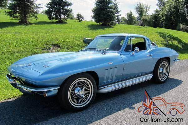 1965 chevrolet corvette stingray coupe 327ci 365hp 4 speed numbers matching. Black Bedroom Furniture Sets. Home Design Ideas
