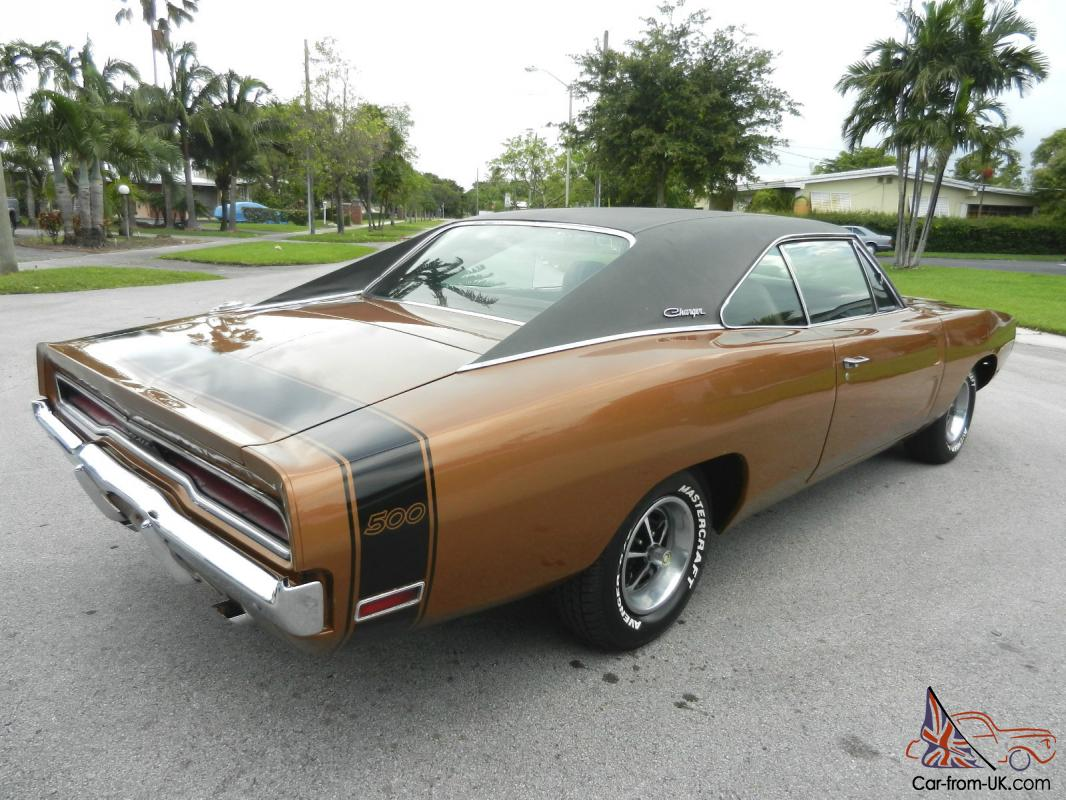 Rare 1970 Dodge Charger 500 Premium Buckets Console Matching Numbers 383 V8