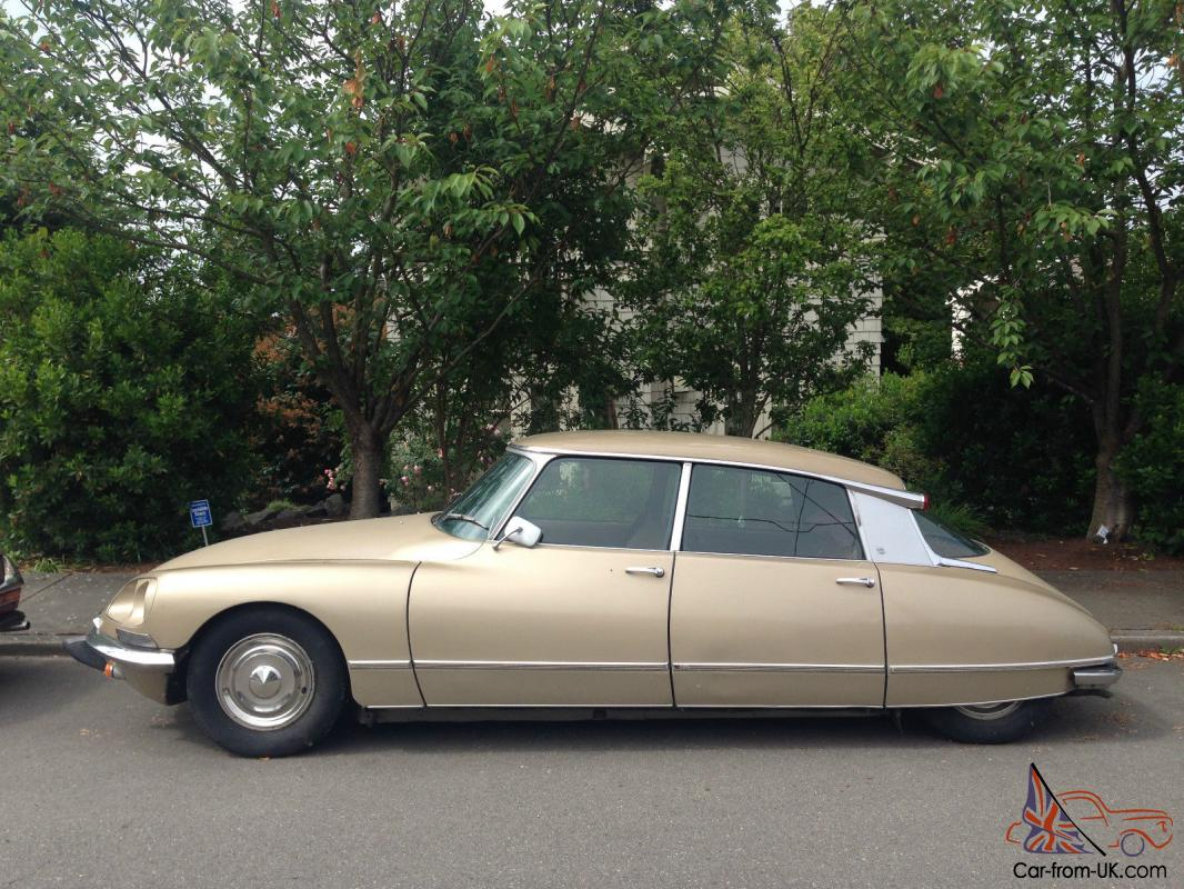1969 Citroen DS21 Pallas, leather, factory Air. Great restoration ...