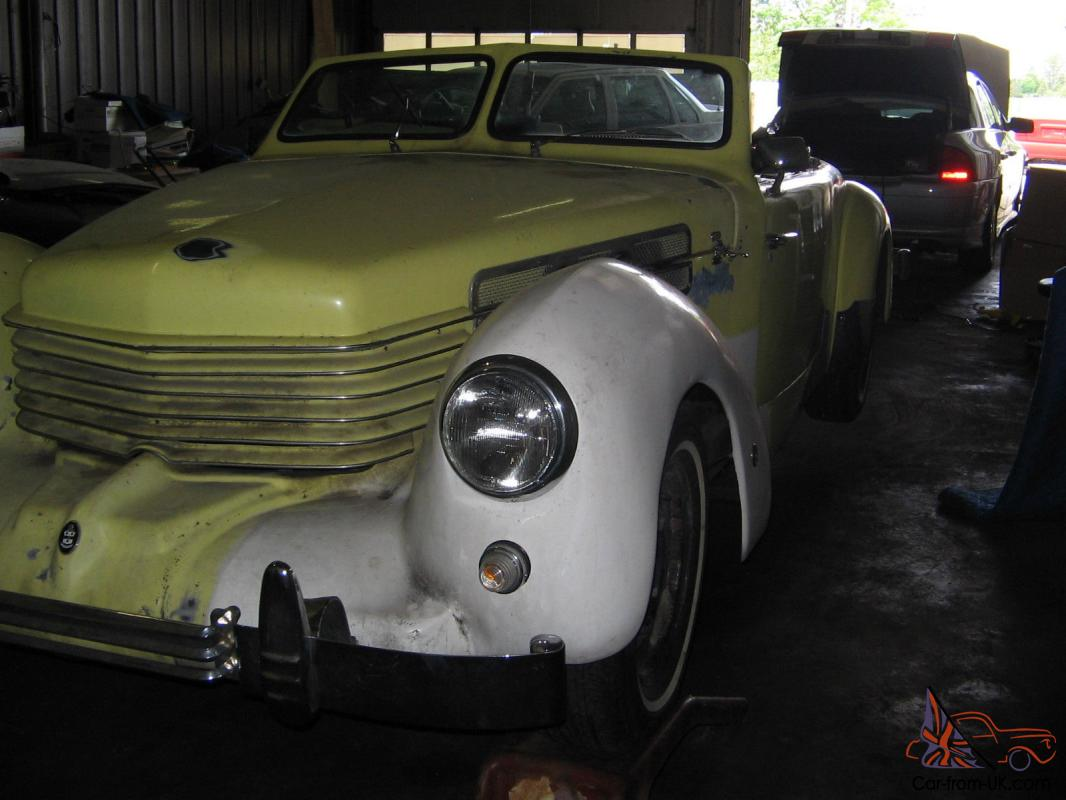 1969 cord convertible chrysler motor hot rod for Cord motor car for sale