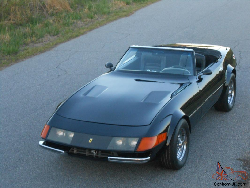 Quot Miami Vice Quot 1967 Ferrari Daytona Replica Possibly Used