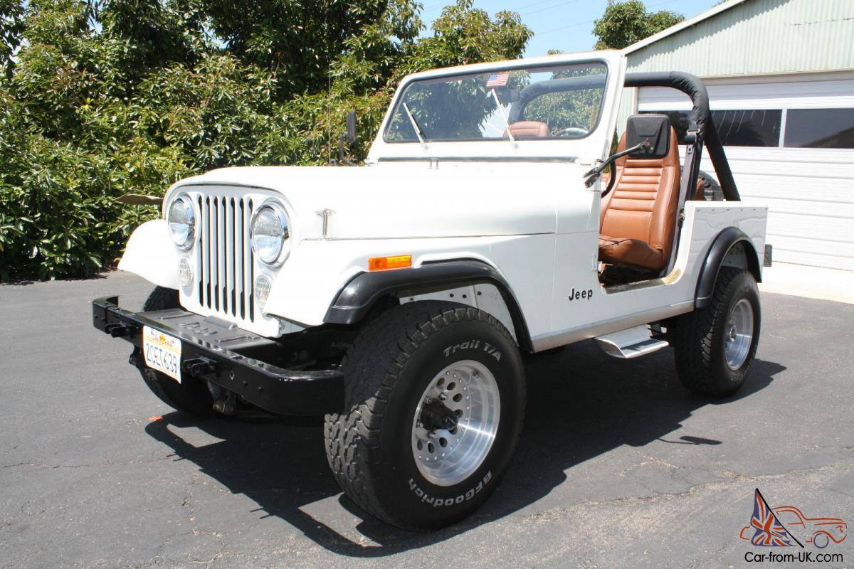 1984 jeep cj7 only 49 800 miles all original ca jeep in. Black Bedroom Furniture Sets. Home Design Ideas