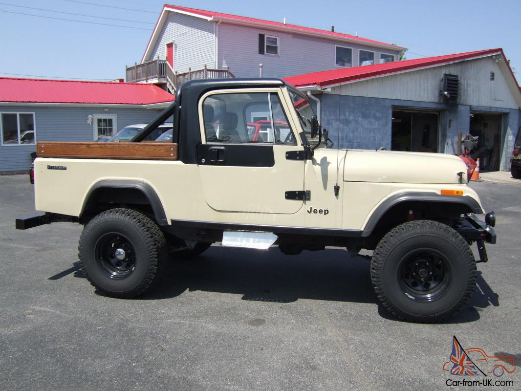 1984 jeep cj8 scrambler. Black Bedroom Furniture Sets. Home Design Ideas