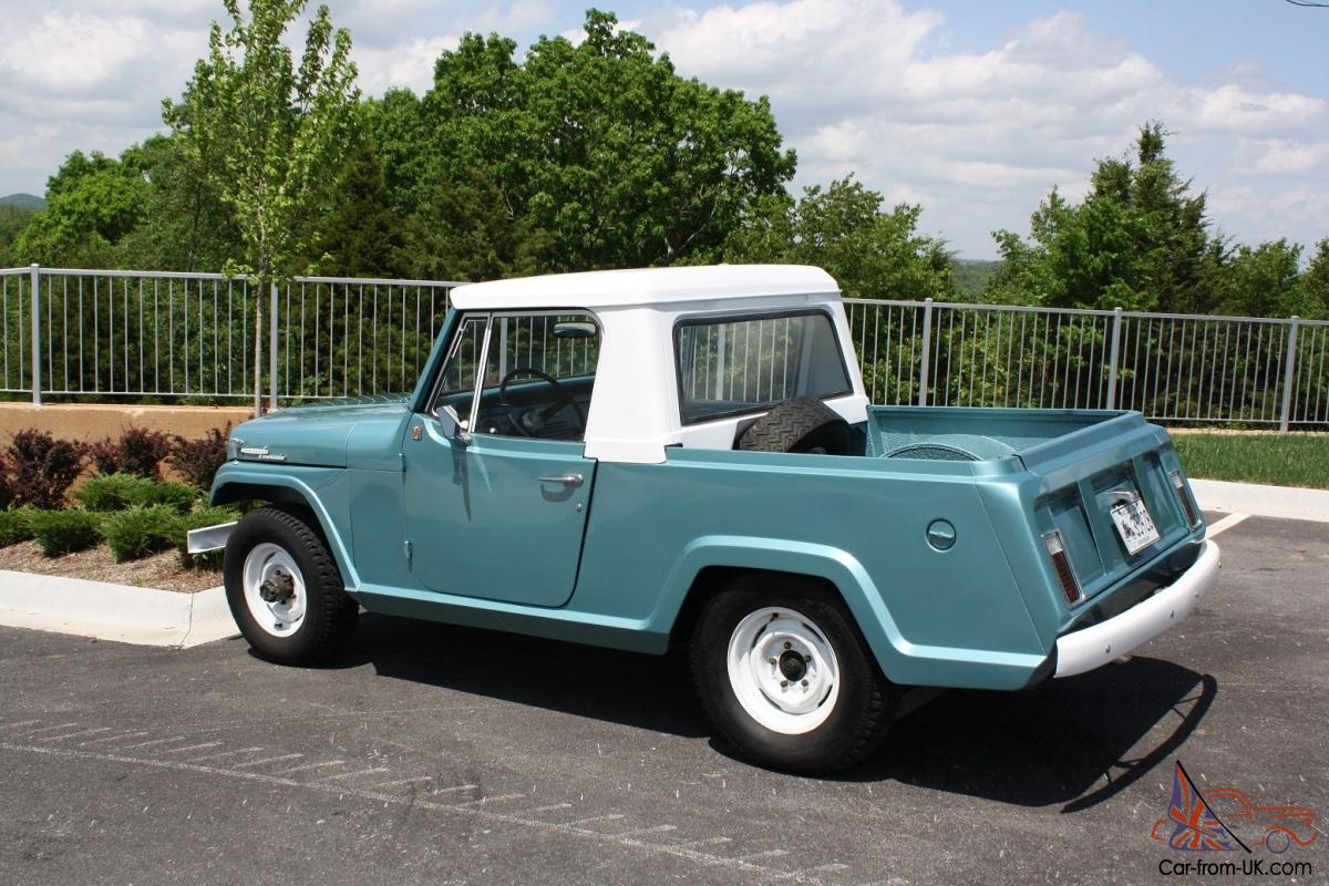 ebay958336 kaiser jeep jeepster commando pickup! 225v6 new paint ownership 1969 jeepster commando wiring diagram at soozxer.org