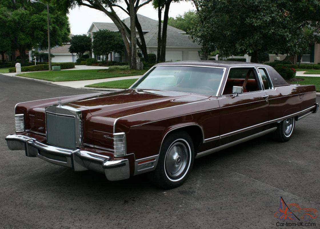 one owner low mile survivor 1977 lincoln town coupe 31k orig mi. Black Bedroom Furniture Sets. Home Design Ideas