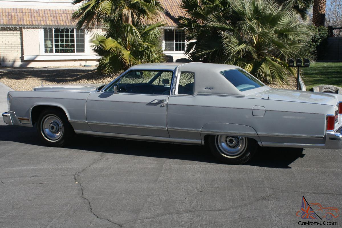 1977 Lincoln Continental Town Coupe Survivor 33613