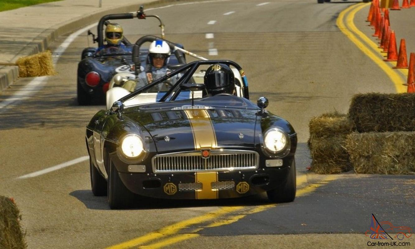 1962 MGB RACE CAR -- We are proud to offer this one of a kind MGB