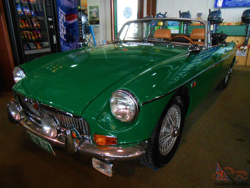 1969 restored mgb convertible for Vermont department of motor vehicles south burlington vt