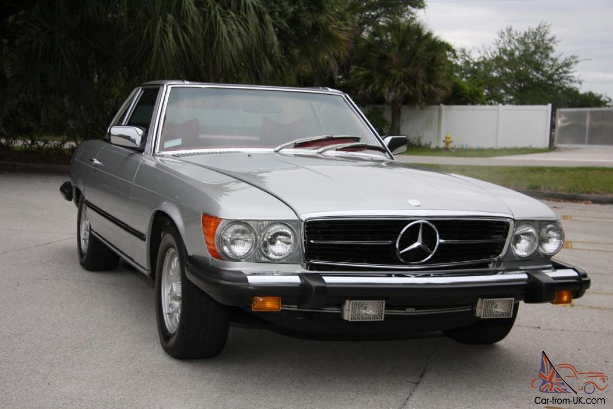 1978 mercedes benz 450sl only 61k well documented car in for Mercedes benz 450sl 1978