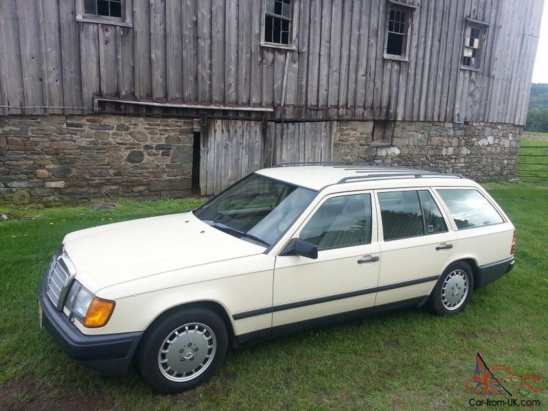 1987 mercedes benz 300tdt turbo diesel wagon