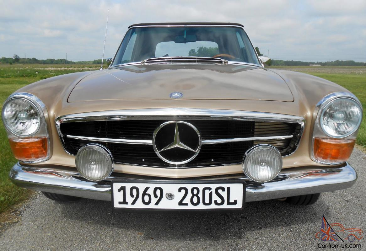 1969 mercedes benz 280sl looks and runs like new for 1969 mercedes benz
